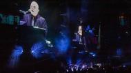 Eindrucksvoll: Billy Joel bei seinem einzigen Deutschland-Konzert in Frankfurt.