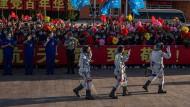 Chinesische Astronauten brechen erstmals zu Raumstation auf