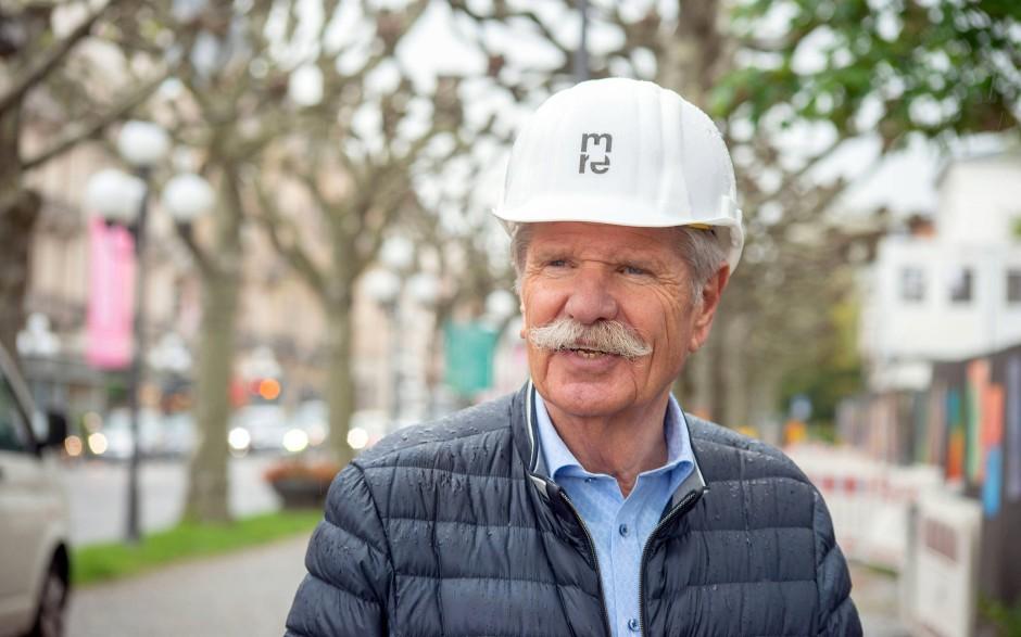 Museumsbauer: Reinhard Ernst schätzt, wechselnd bis zu einem Viertel seiner Sammlung ausstellen zu können