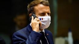 Auch Handynummer von Macron auf Spionagelisten