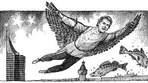 Seit wann tragen Falken Jogginghosen?