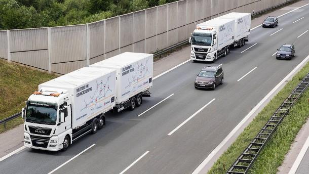 Wenn Lastwagen digital vernetzt werden
