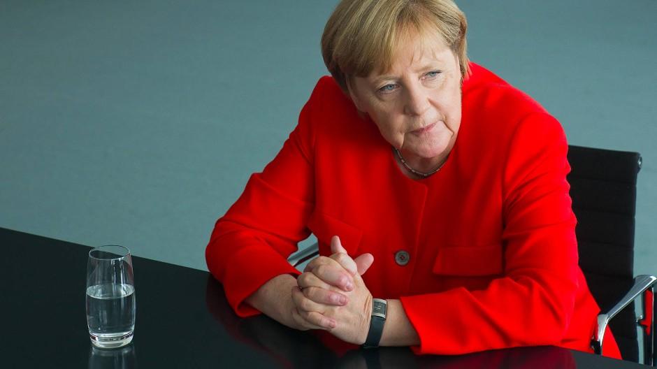 Angela Merkel im Interview: Wir brauchen Mut