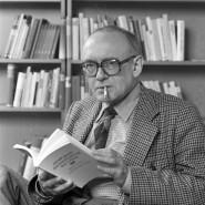 """Thomas Huber liest """"klos"""" von Ernst Jandl"""