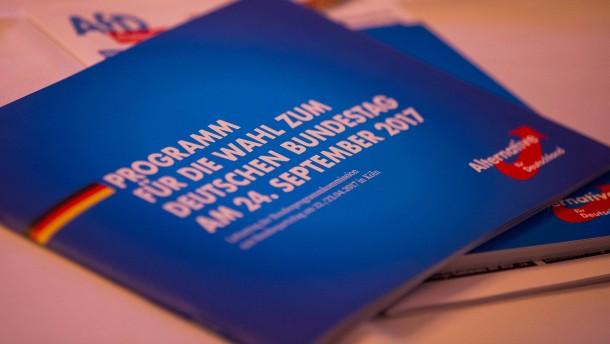 AfD will Wahlprogramm als E-Book verkaufen