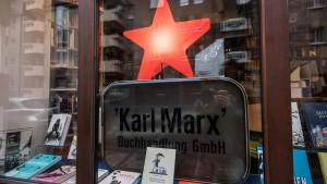 Denkmalschutz für Marx