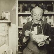 "Aus dem ""Old Men's Toy Shop Album"" von Jessie Tarbox Beals: ""Old Men's Toy Shop""  (circa 1913-1916). Rare Book and Manuscript Library, Columbia University, Community Service Society Collection."