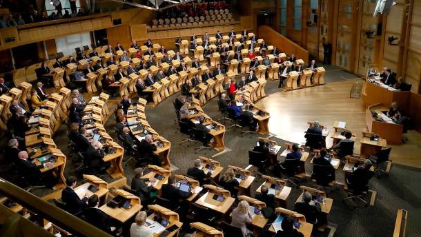 Abstimmung über schottisches Unabhängigkeitsreferendum verschoben