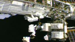 6,5 Stunden Weltraumspaziergang