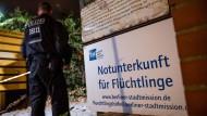 Tatort Flüchtlingsunterkunft: Im September wurde in Berlin eine 6-Jährige missbraucht.
