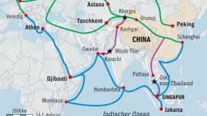 Malaysia gibt China einen Korb