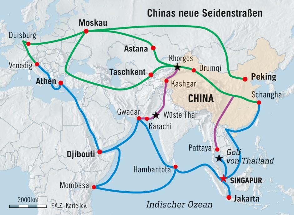 Bild zu: Malaysia sagt Projekte für Chinas Neue Seidenstraße ab ...