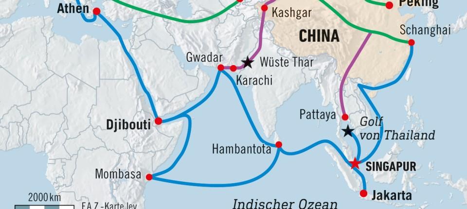 Malaysia sagt Projekte für Chinas Neue Seidenstraße ab