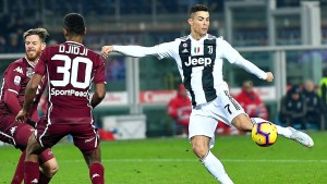 Juventus gewinnt Stadtduell dank Ronaldo