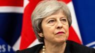 Britische Premierministerin May: Stimmt das Unterhaus im zweiten Anlauf ihrem Entwurf für ein Brexit-Abkommen zu?