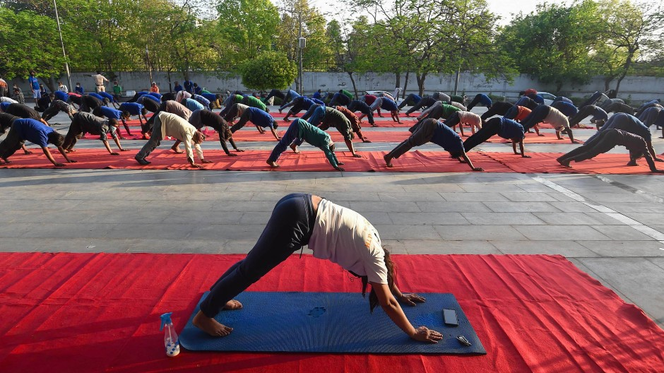 Yoga gegen Corona