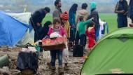 Warten auf Besserung: Szene aus dem Lager Idomeni an der griechisch-mazedonischen Grenze