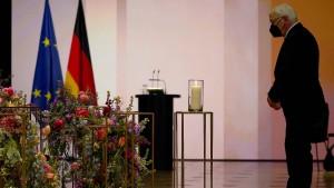 """Steinmeier: """"Die Pandemie ist eine menschliche Tragödie"""""""