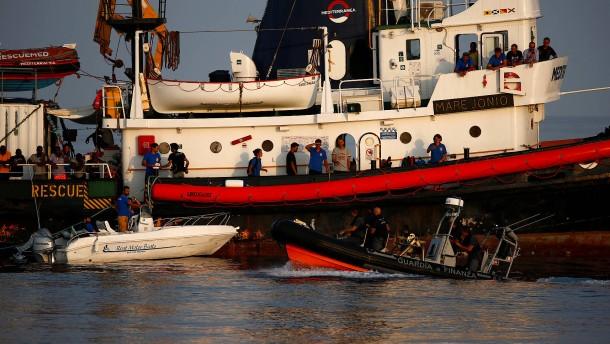 """Rettungsschiff """"Mare Jonio"""" auf Lampedusa beschlagnahmt"""