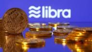 Logo der Kryptowährung Libra von Facebook