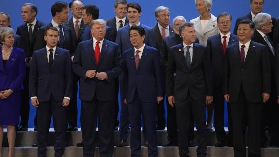 Gruppenbild ohne Merkel