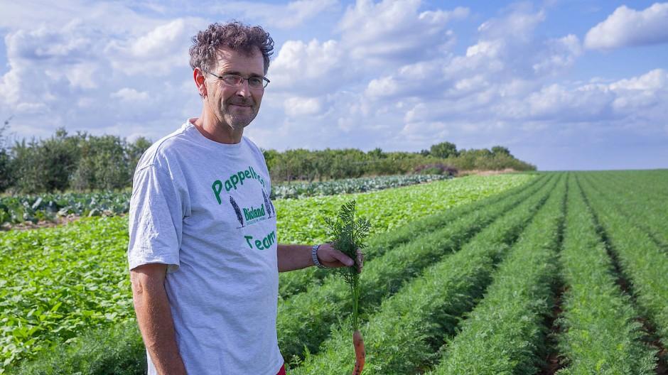 Umweltbewusst: Götz Wollinsky setzte auf ökologische Landwirtschaft.