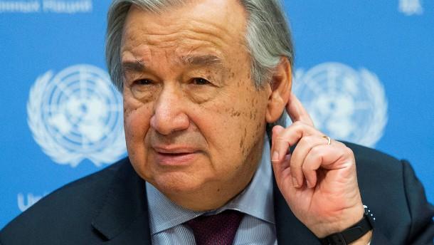 UN-Generalsekretär Guterres fordert Sondersteuer für Wohlhabende