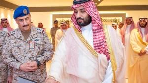 """""""Produktives Gespräch"""" mit saudischem Kronprinzen"""