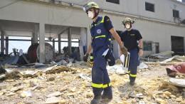 Deutsche THW-Helfer beenden Rettungsarbeiten in Beirut