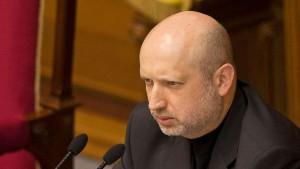 Ukrainischer Interimspräsident für Annäherung an Europa