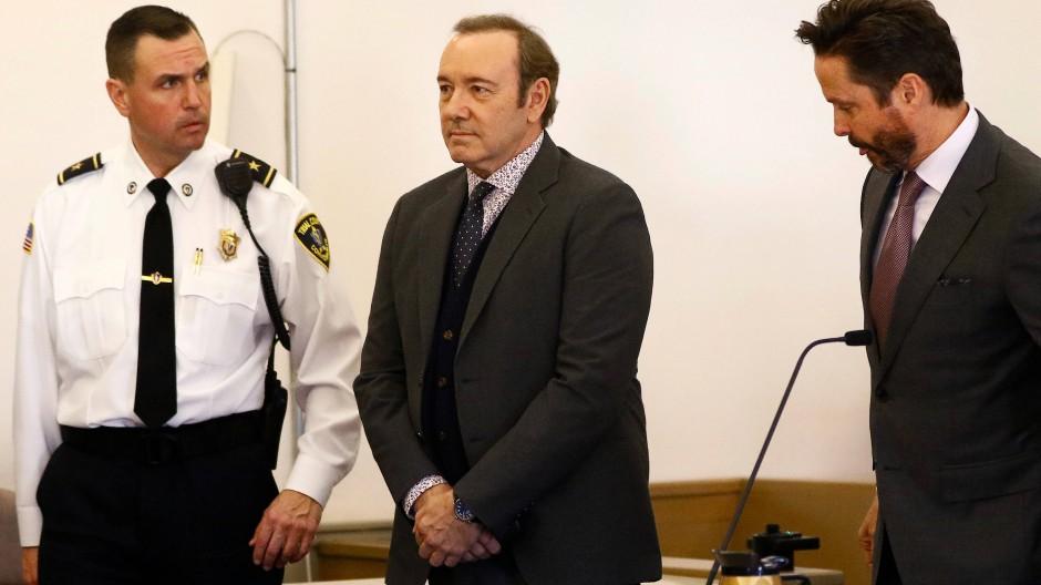 Kevin Spacey steht vor Gericht