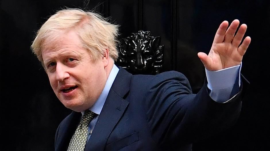 Kommt wohl auch alleine ganz gut zurecht: Großbritanniens Premier Boris Johnson