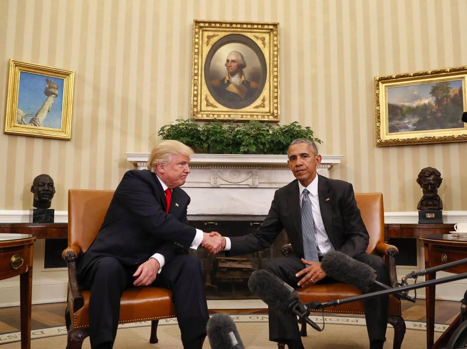 """""""Mein wichtigster Rat an den neuen Präsidenten ist, dass die Vereinigten Staaten wirklich eine unerlässliche Nation in unserer Weltordnung sind"""": Obamas Mahnung an Trump"""