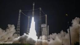 Europäische Vega-Rakete bringt erfolgreich Satelliten ins All