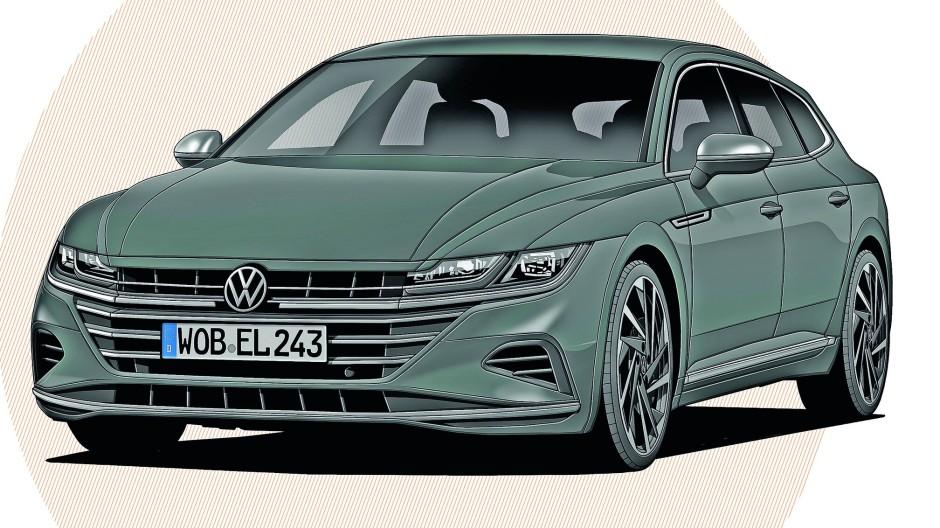 Der VW Arteon 2.0 TDI SB
