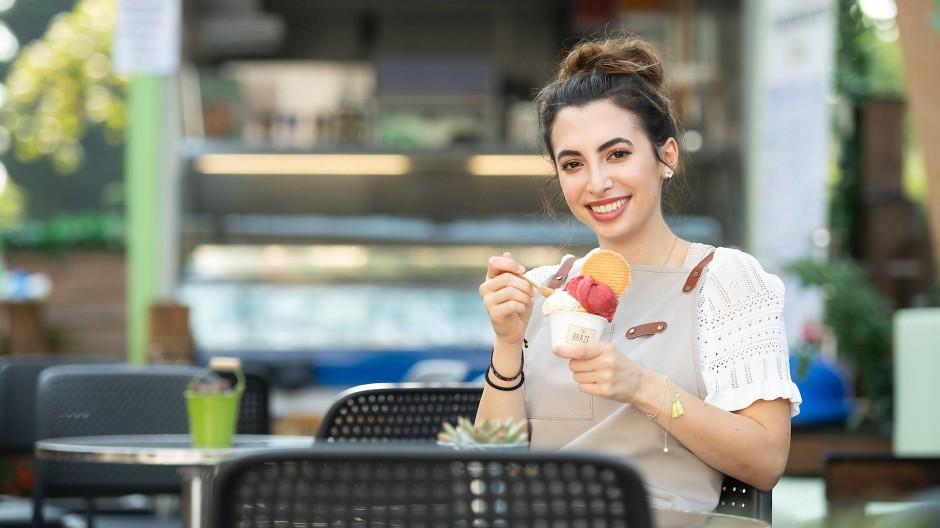 Aus heimischer Produktion: Murino in ihrem Hof-Café