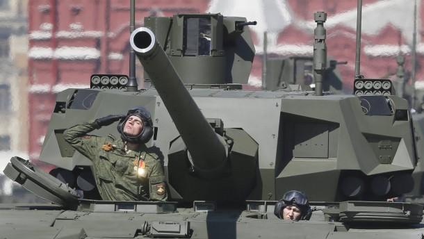 Russlands Militärausgaben schrumpfen
