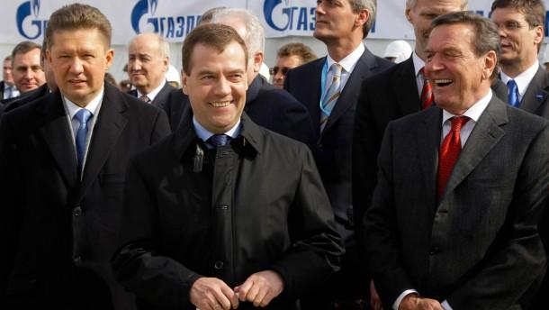 Energiepolitik ist für Moskau Machtpolitik