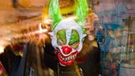 """Die Maske eines """"Horro-Clowns"""""""