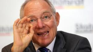 Schäuble für nationale Tilgungsfonds