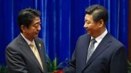 Japan und China nähern sich nach Jahren des Streits an