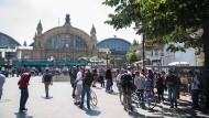 Soll schöner und sicherer werden, bloß wie: der Kaisersack unmittelbar am Frankfurter Hauptbahnhof