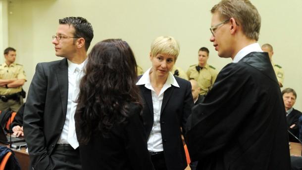 NSU Prozess Zschäpe und Verteidigung