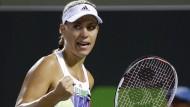 Kerber wieder Nummer zwei der Tennis-Welt