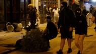 Proteste gegen Polizeigewalt enden in Krawallen