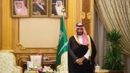 Der saudische Vize-Kronprinz Mohammed bin Salman