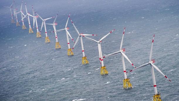 Das Wettbieten um neue Windparks beginnt