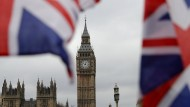 """Wie hoch werden die Scheidungskosten für die Briten sein? Zur Debatte stehen """"kein Penny"""" bis zu nun 100 Milliarden Euro."""