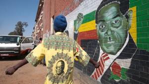 Robert Mugabe gestorben