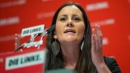 Seit sechs Jahren im Hessischen Landtag: Janine Wissler